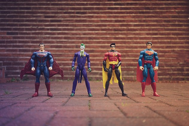 Blog. Action figures